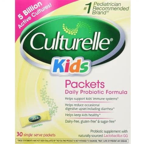 Culturelle Kids Packets Daily Probiotic Supplement 30 Ea