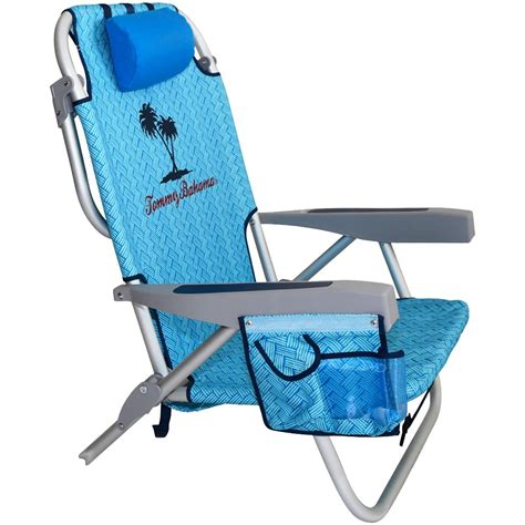 galleon bahama 2015 backpack cooler chair with storage pouch and towel bar blue