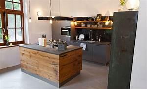 Küche Beton Holz : exklusiv design kueche holz landhaus naturstein chabby 61 k che pinterest k che holz ~ Markanthonyermac.com Haus und Dekorationen
