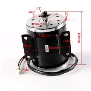 High Performance 800W 36V Electric Motor For Scooter ...