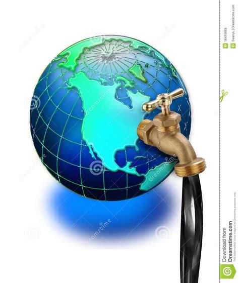 prise de p 233 trole sur le globe du monde photos libres de droits image 18416668
