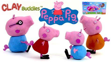 p 226 te 224 modeler peppa pig peppa cochon figurines clay buddies