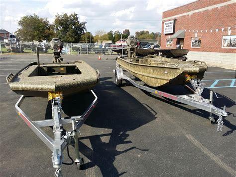 Gator Trax Boats In Rough Water by 2016 New Gator Trax 17x54 Hybrid Sport Huntdeck Aluminum