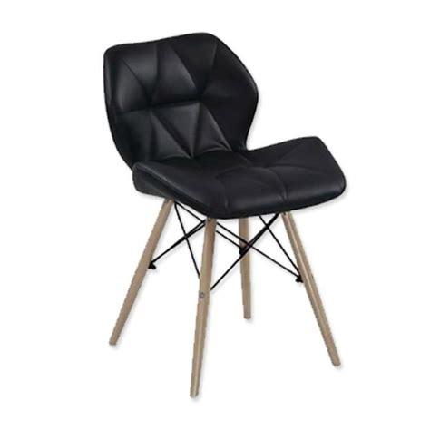 lot de 4 chaises design ophir noir achat vente chaise salle a manger pas cher couleur et