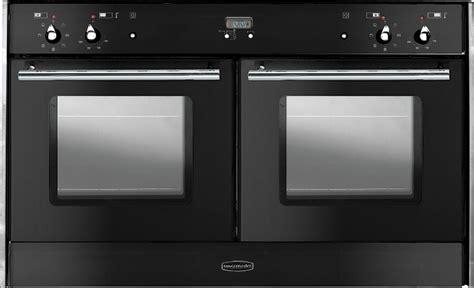 rangemaster toledo freestyle oven black with chrome trim built in range cooker 82100