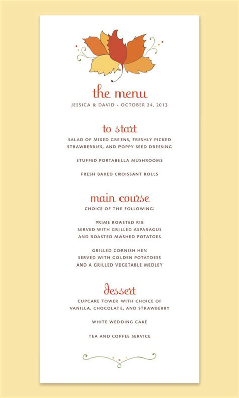 Thanksgivng Dinner Pages Template by Printable Thanksgiving Menu Templates For Free Happy