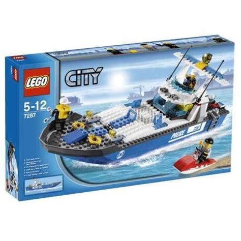 Toy Lego Boat by Lego City Police Boat 7287 Toys Zavvi