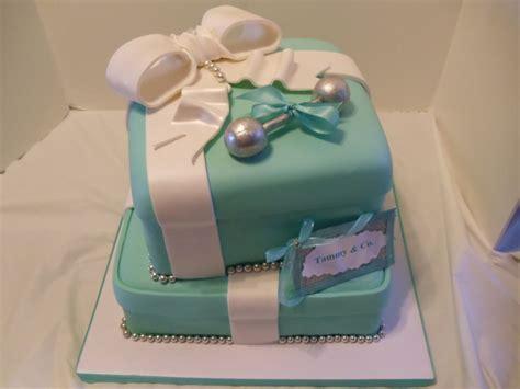 Tiffany's Theme Baby Shower Cakecentralcom
