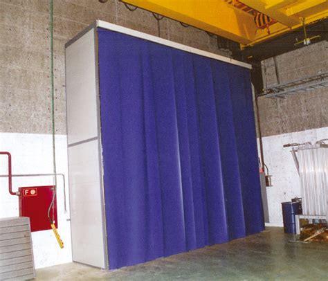 acoustique industrielle rideau phonique anti bruit insonorisation