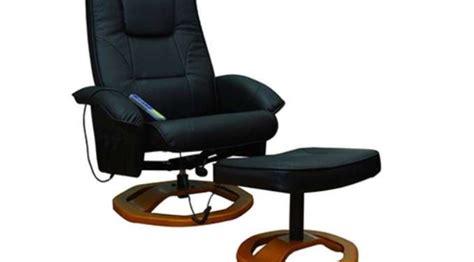 fauteuil massant pas cher 149 9 fauteuil avec repose pieds port inclus