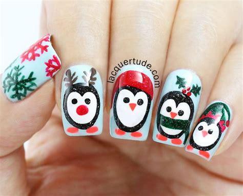 Celebrate The Holiday Season With Christmas Nail Art 2017