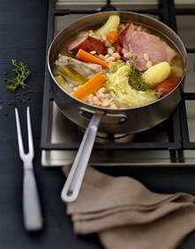 recette pot 233 e au chou et haricots blancs