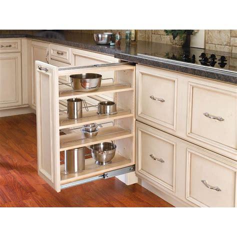 rev a shelf 30 in h x 9 in w x 23 in d pull out between cabinet base filler 432 bf 9c the
