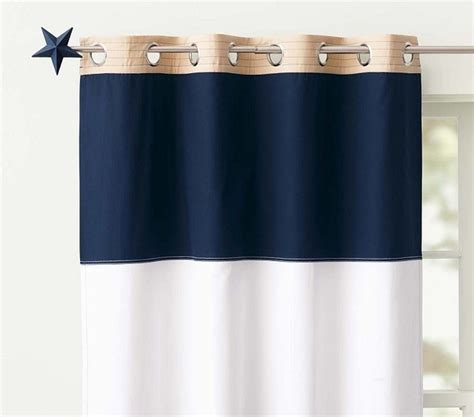 Navy And White Striped Curtains Blackout by Rugby Blackout Panel Navy White Style Curtains
