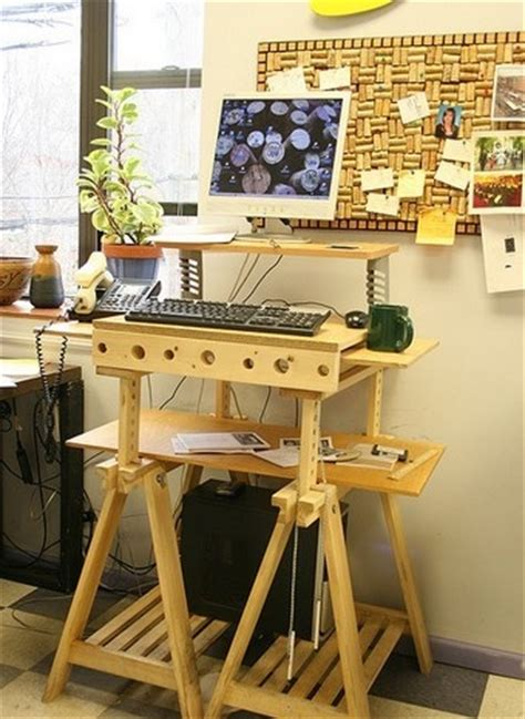 the sawhorse standing desk lifehacker australia