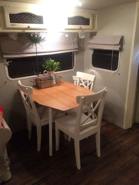 Dining Table! Ikea, With Toddler Chair, Camper Renovation