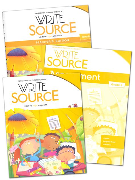 Write Source (2012 Edition) Grade 2 Set (051628) Images  Rainbow Resource Center, Inc