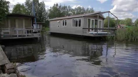 Woonboot Te Koop Rotterdam Crooswijksebocht by Woonark Te Huur In Terherne Youtube