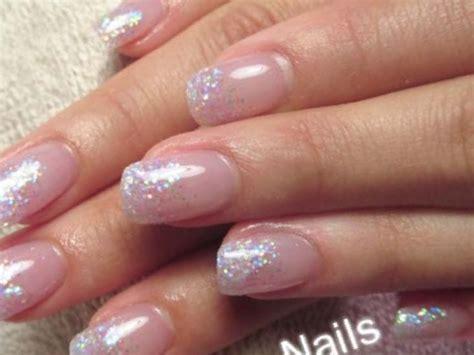 38+ Clear Glitter Nail Designs