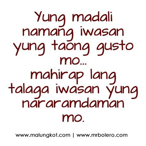 Quotes For Halloween Tagalog by 102 Best Images About Tagalog Quotes On Pinterest Sad