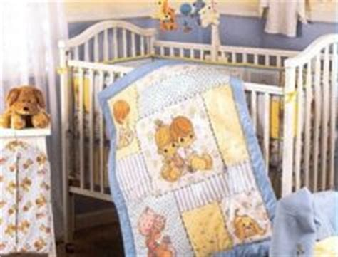 precious moments vintage crib set baby bedding 6pc boy or