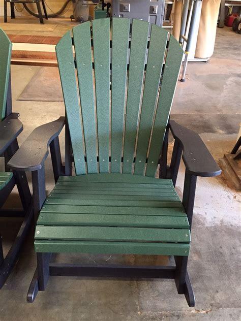 polywood adirondack rocking chairs best size of