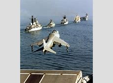 FileFA2 Sea Harrier Launches from HMS Illustrious MOD