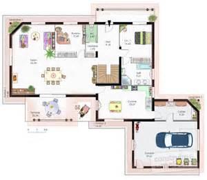maison contemporaine 10 d 233 du plan de maison contemporaine 10 faire construire sa maison