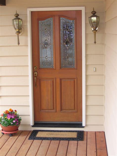 Nice Wooden Exterior Door #4 Front Door Design Newsonairorg