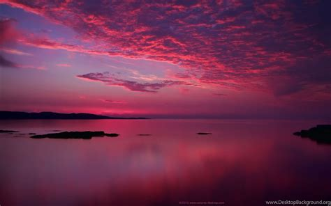Amazing Pink Sunset Wallpapers Desktop Background