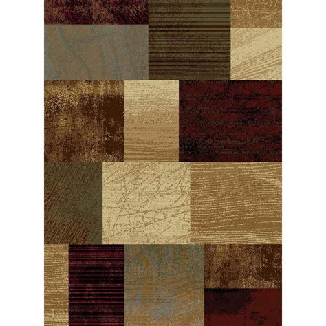 the home depot area rugs tayse rugs elegance multi 7 ft 6 in x 9 ft 10 in