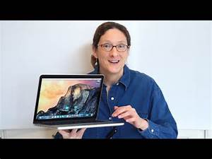 "13"" MacBook Pro Retina Display 2015 Review - YouTube"