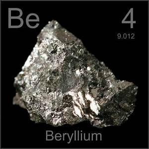 The Periodic Table - Beryllium