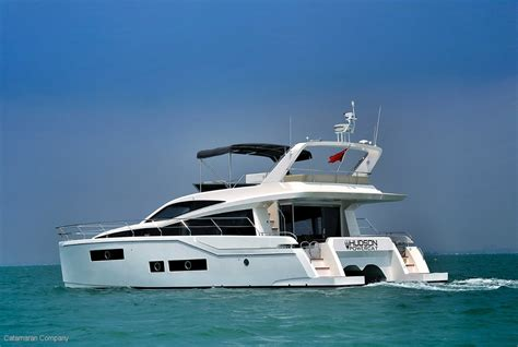 New Catamaran Boats For Sale by New Hudson 48 Power Catamaran Boat Show For Sale