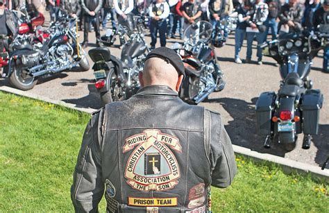 Bikers Pray For Safety, Others