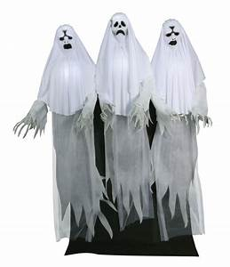 Animated Haunting Ghost Trio - Decorations & Props