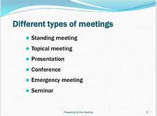 Leading effective meetings slides