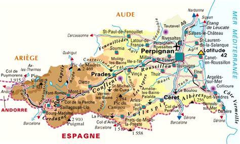 carte du d 233 partement pyr 233 n 233 es orientales