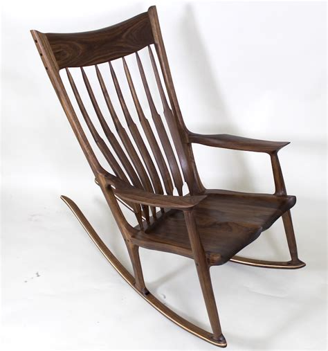 how to build a maloof inspired sculpted sculptured rocker rocking chair