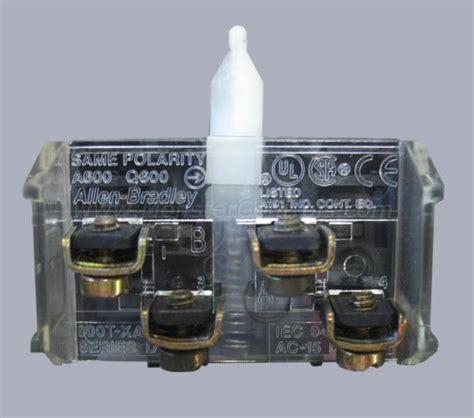 800t Xa Auxiliary Contact, Allen Bradley  Monster Controls