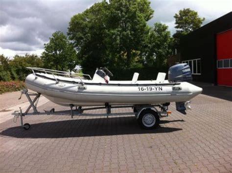 Rubberboten En Ribs Te Koop by Te Koop Rib Rubberboot 5 5 Meter Met Trailer