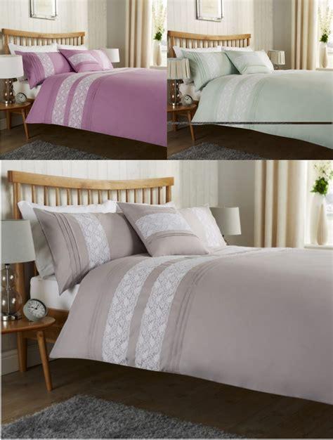 Bibury Lace Duvet Cover Bedding Set All Sizes Linenstar