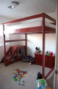 diy loft bed jaimesews