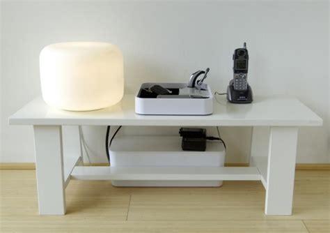 une solution design pour ranger ses cables 233 lectriques