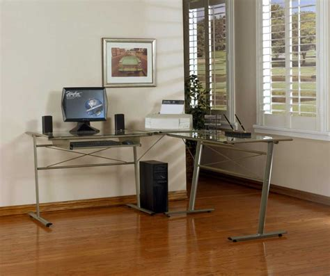 100 techni mobili l shaped computer desk mahogany techni mobili dual pedestal computer