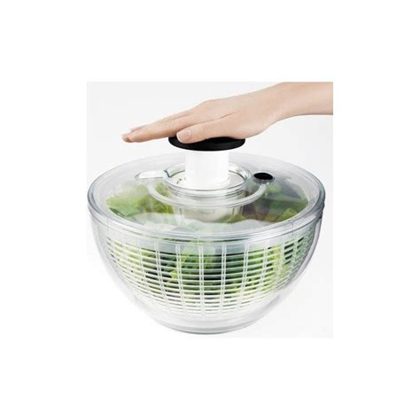 essoreuse a salade 26cm transparente oxo maspatule
