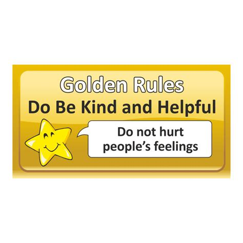 Top 5 Golden Rule Stickers  Labels For Teachers