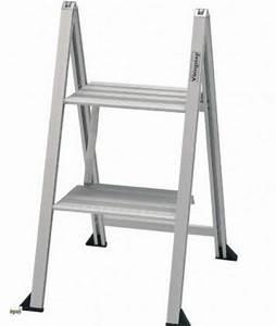 Leiter 3 Stufen : alu trittleiter superflach 2 3 stufen klapptritt leiter haushaltsleiter 40646 ebay ~ Markanthonyermac.com Haus und Dekorationen