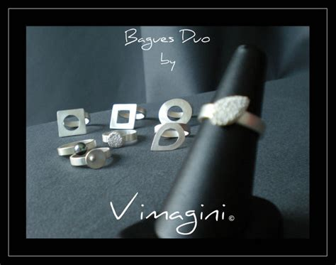 bagues quot duo by vimagini quot album photos vimagini p 226 te d argent cr 233 ation stage techniques