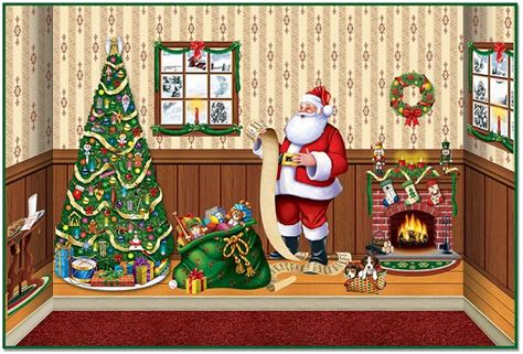 Indoor Christmas Insta-theme, Backdrops & Props